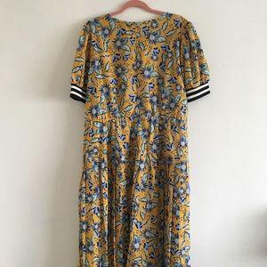 Eloquii Dresses - YELLOW + BLUE DRESS ELOQUII 20